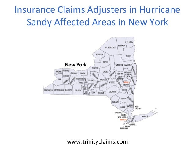 www.trinityclaims.comInsurance Claims Adjusters in HurricaneSandy Affected Areas in New YorkNew York