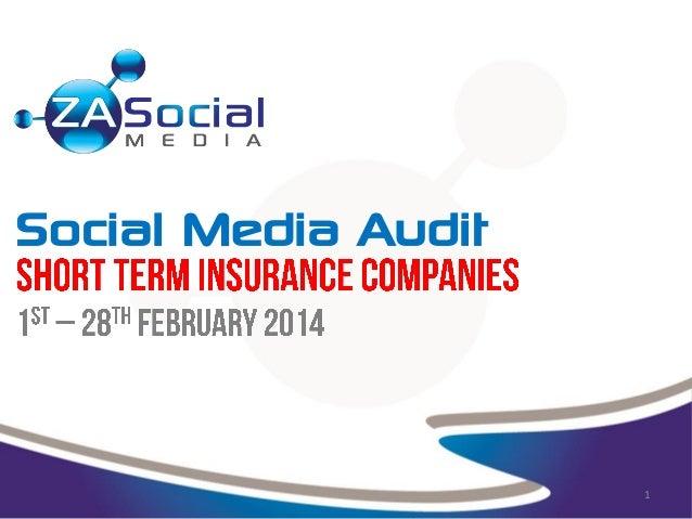 X 1 Social Media Audit