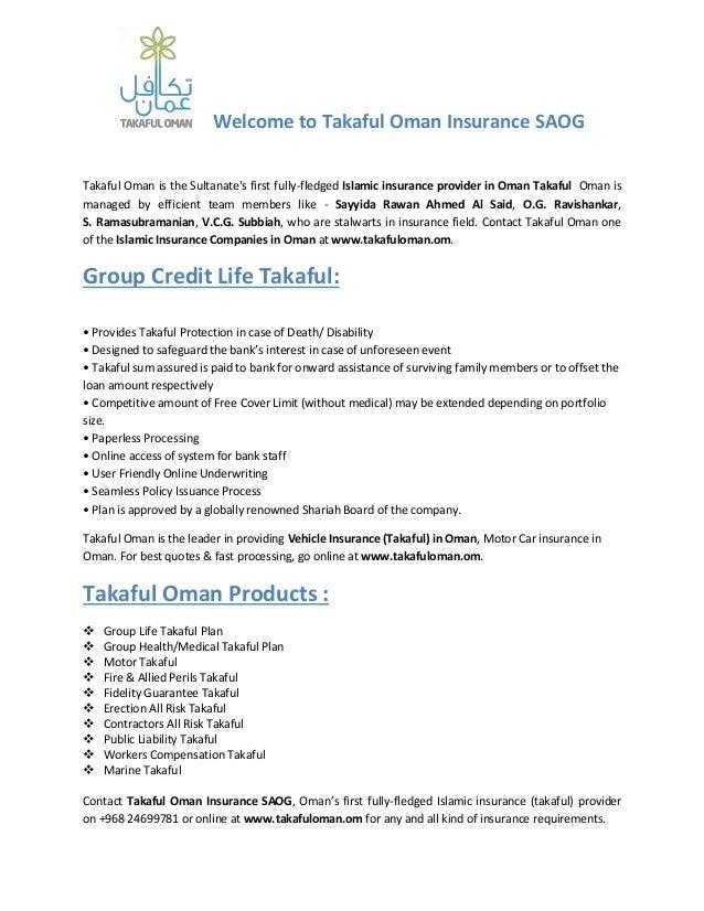 Insurance Companies in Oman