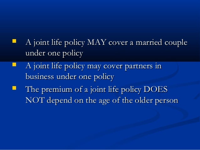 Life Insurance Policy Australia: Joint Life Term Insurance ...