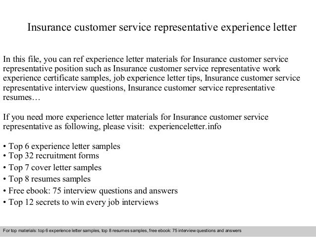 letter of experience car insurance template  insurance letter of experience - Hola.klonec.co