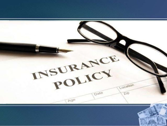 Contents: • Introduction to INSURANCE POLICIES:  Primary factor of risk and uncertainty.  Primary principle of pooling o...