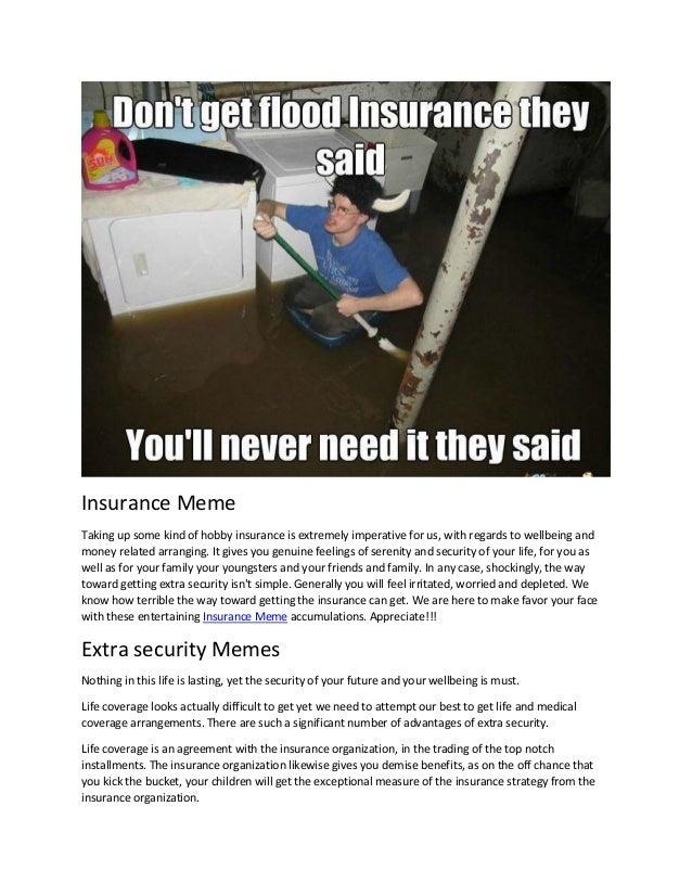 Insurance meme