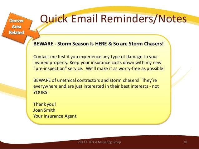 insurance newsletter program email marketing newsletters small busin