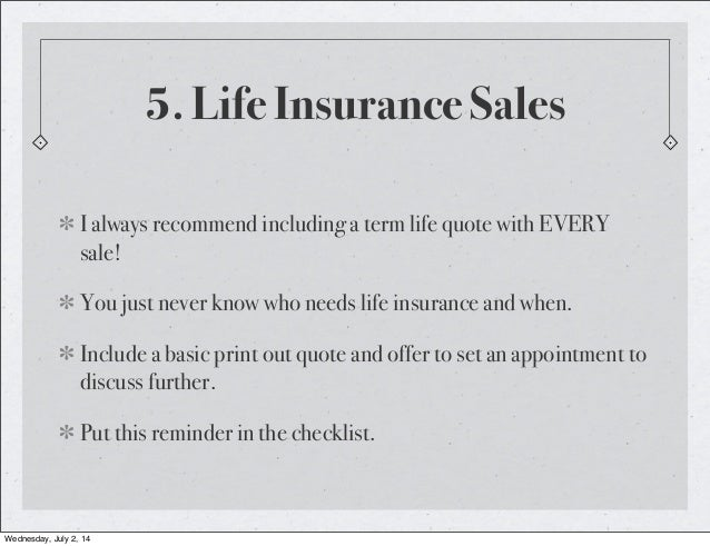 Insurance sales at new business pdf