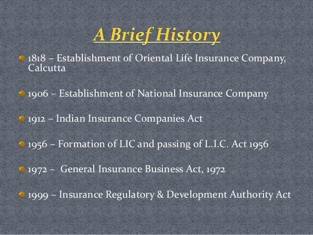 Insurance sector reforms in india