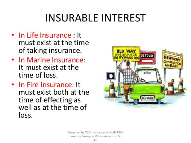 what is an example of insurable interest