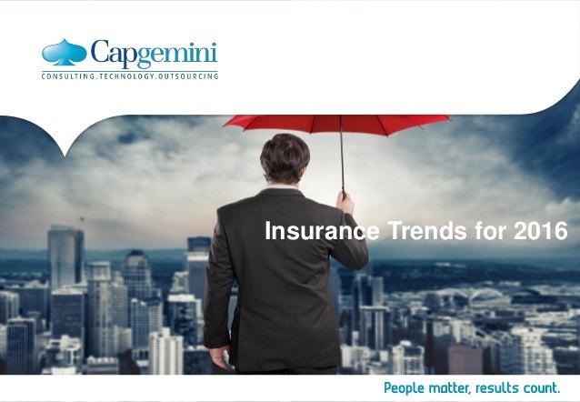 Insurance Trends for 2016