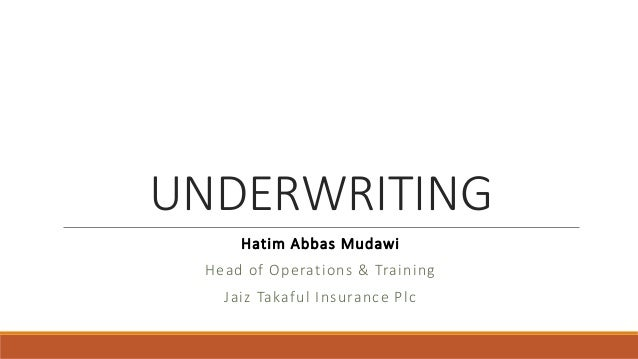 underwriting agreement indemnity