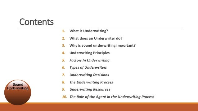 Takaful And Insurance Underwriting