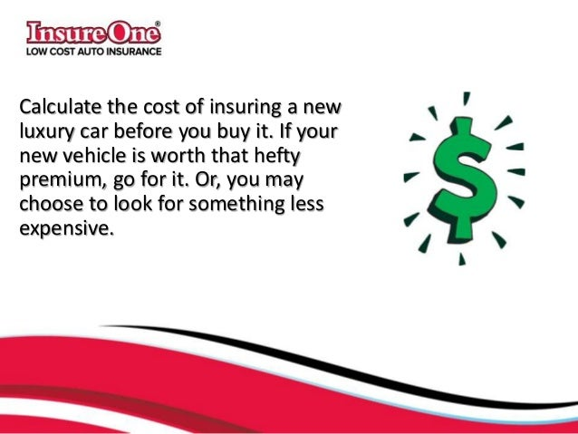 Insuring A Car Before You Buy It