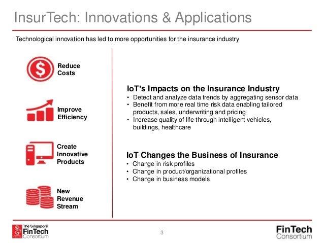 The Singapore FinTech Consortium - Introduction to InsurTech Slide 3