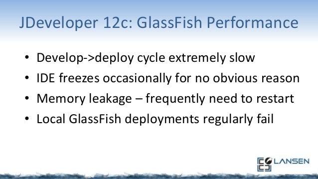 JDeveloper 12c: GlassFish Deployment