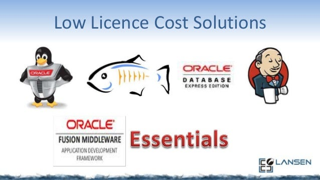 Low Licence Cost Solutions