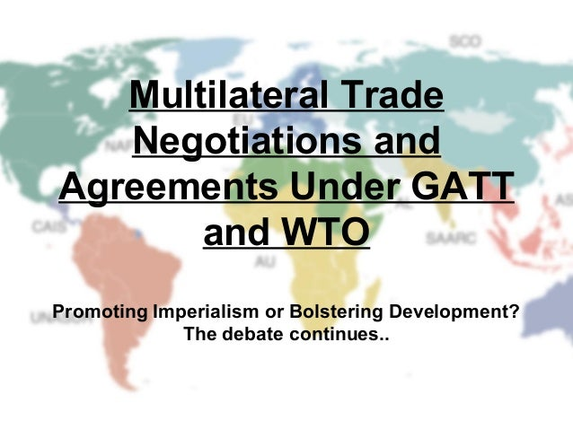 multilateralism and regionalism trade arrangements Unravelling the puzzle of social standards' design in eu and us trade agreements new political  regionalism, multilateralism, and deeper integration.
