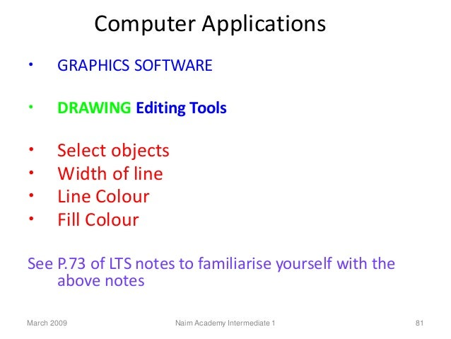 Line Drawing Algorithm In Computer Graphics Lecture Notes : Intermediate computing studies course slides