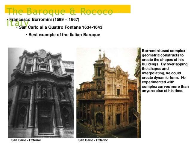 Exterior 13 The Baroque Rococo Italy