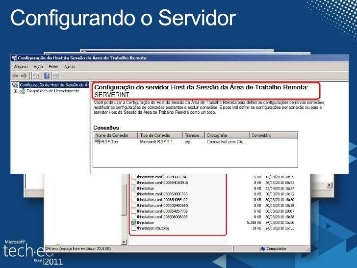 Configurando o Servidor<br />