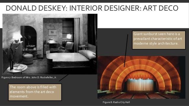 55. DONALD DESKEY: INTERIOR DESIGNER: ART DECO ...