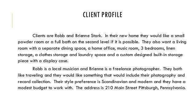 Interior design client profile - Clients looking for interior designers ...
