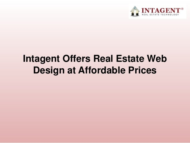 Intagent Offers Real Estate Web Design at Affordable Prices