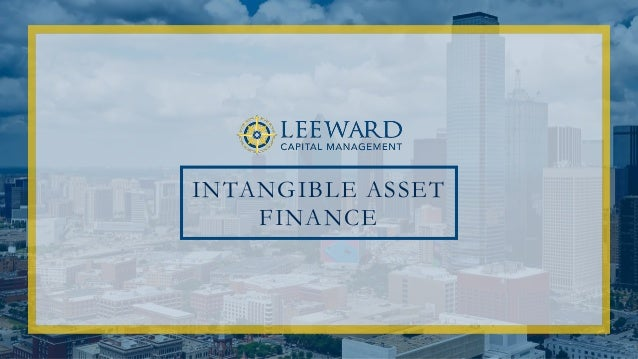 INTANGIBLE ASSET FINANCE