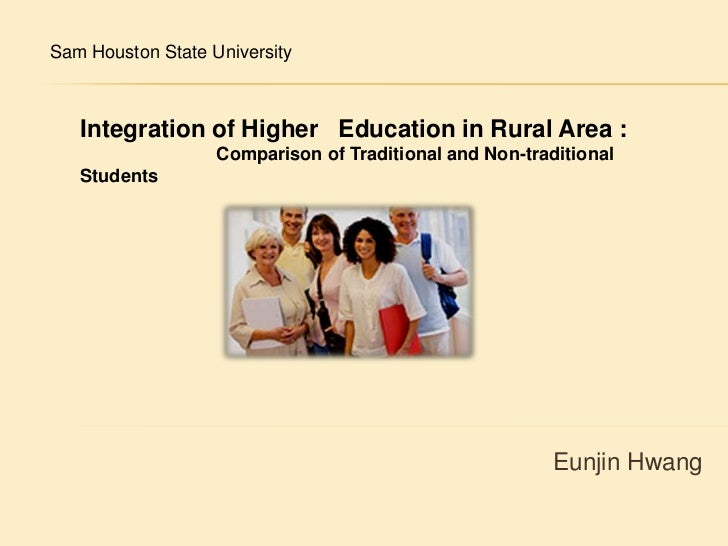 Sam Houston State University <br />Integration of Higher   Education in Rural Area :<br />                           Compa...