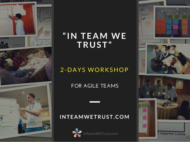 "Two-days training for Agile teams: ""In Team We Trust"""
