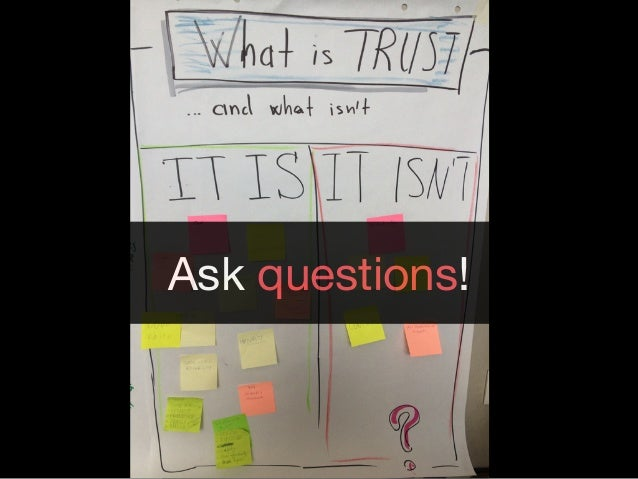 YOU TRUST A PERSON NEAR YOU :)Ask questions!