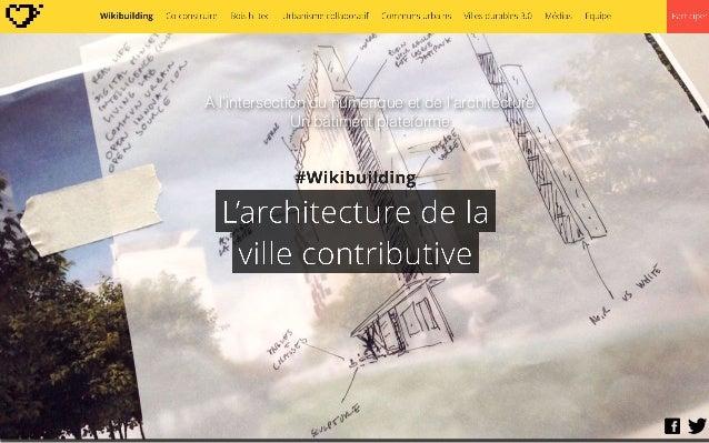 A l'intersection du numérique et de l'architecture Un bâtiment plateforme