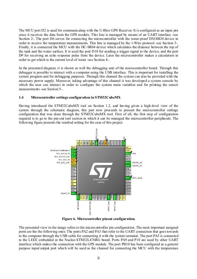 Tank water level & monitoring solution based on the STM32L476 MCU