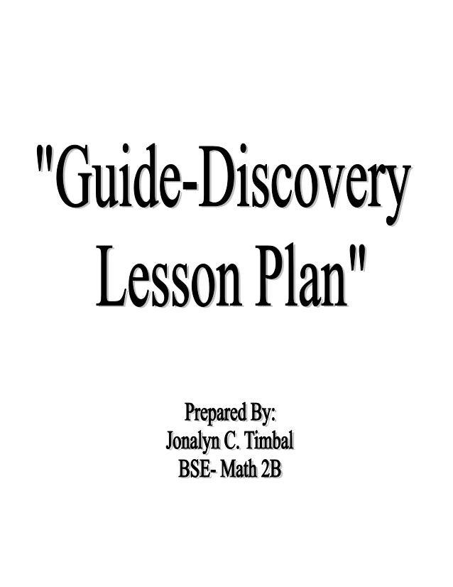 MATH Lesson Plan sample for demo teaching