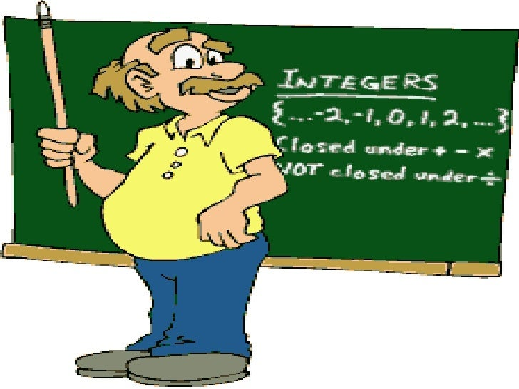 INTEGERSIntegers form a bigger collection of numberswhich contains whole numbers andnegative numbers. For example-…-4, -3,...