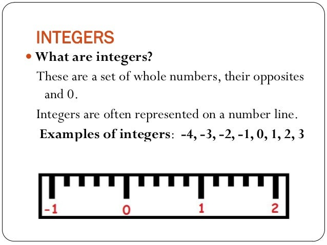 Mathematics for Grade 6: Integers