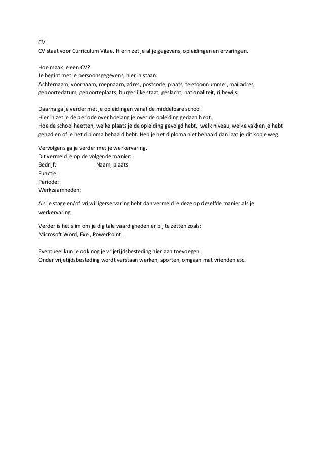 motivatiebrief vakkenvuller voorbeeld Motivatiebrief Vakkenvuller | hetmakershuis motivatiebrief vakkenvuller voorbeeld