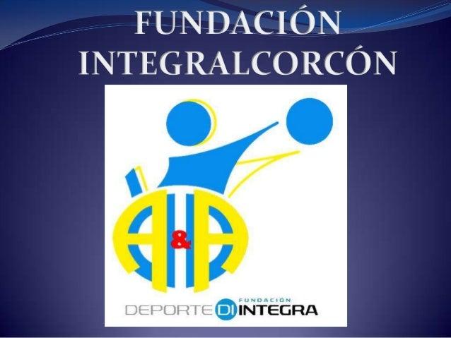 HISTORIA  Su fundación se remonta al año 1989, formando parte de la entonces  Asociación de Minusválidos de Alcorcón (AMA...