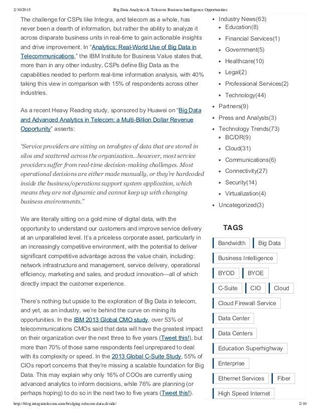 Integra: Bridging the Telecom and Data Divide (Blog) Slide 2