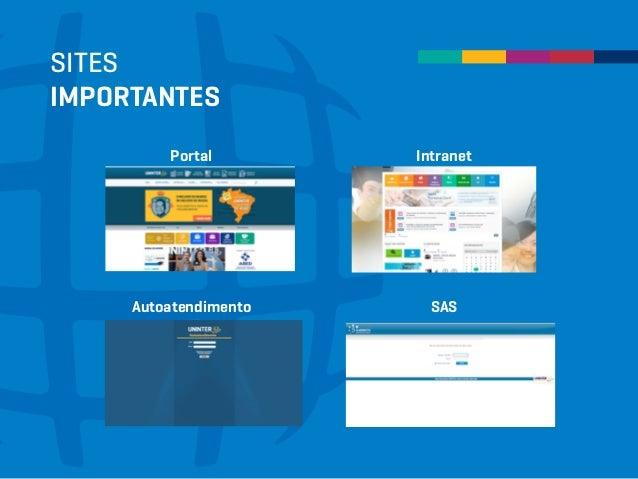SITES IMPORTANTES Portal Intranet Autoatendimento SAS