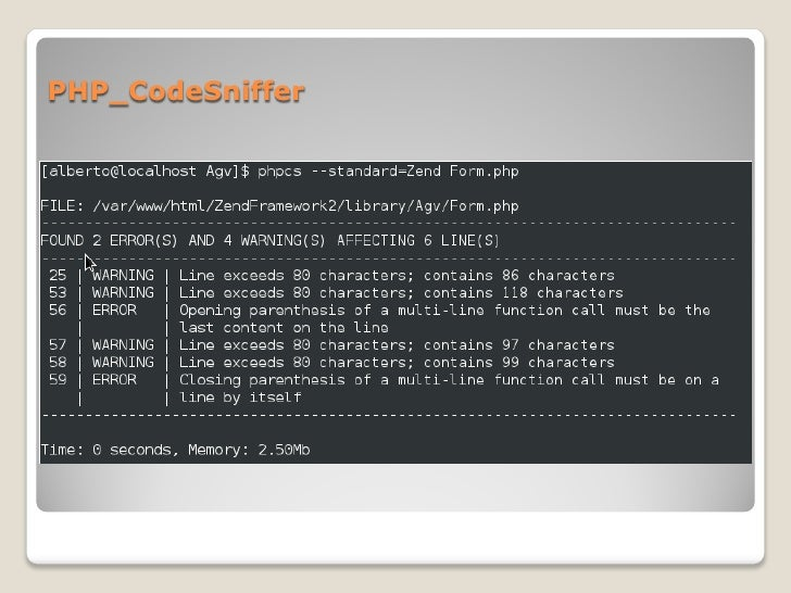 PHP_CodeSniffer