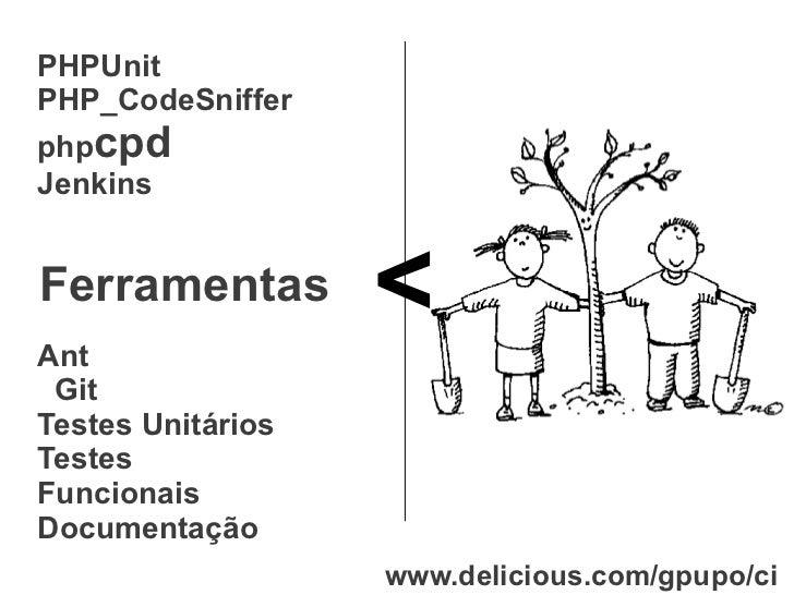 Integração contínua em PHP com Jenkins