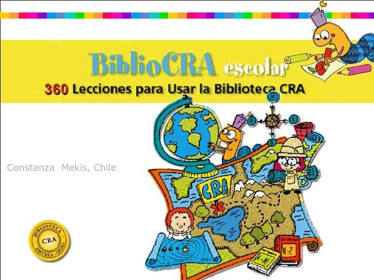 Constanza  Mekis, Chile 360