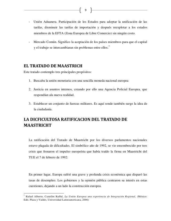 9       -   Unión Aduanera. Participación de los Estados para adoptar la unificación de las         tarifas, disminuir las...