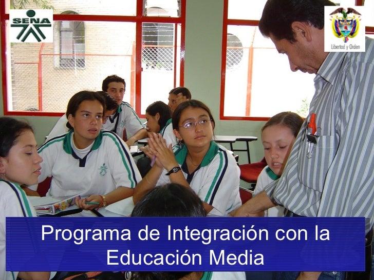 Programa de Integración con la Educación Media