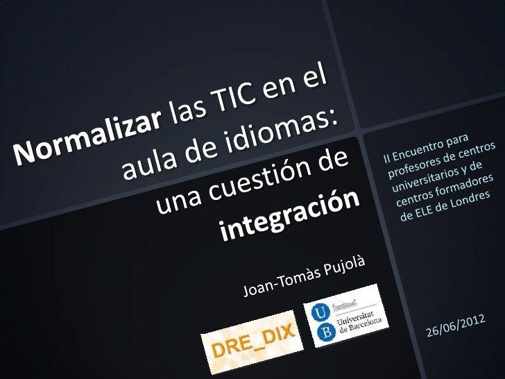 logística             Integración             curricular y             de software                            formación ag...