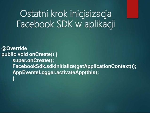 W jaki sposób komunikuje się aplikacja Android z Facebookiem? 1. REST API 2. FQL 3. GRAPH API