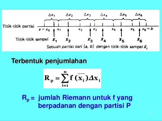 Kalkulus - Integral