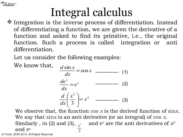 calculus 2 integration paper Calculus does not have to be difficult join dr william murray's college calculus 2 online class with clear explanations, tons of examples, and time-saving tips.