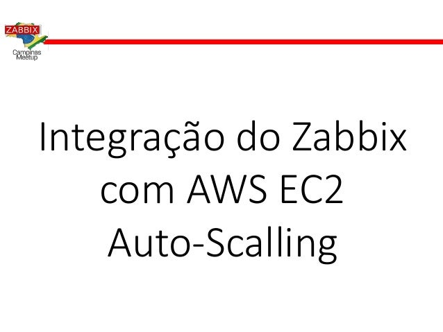 Integra��o do Zabbix com AWS EC2 Auto-Scalling