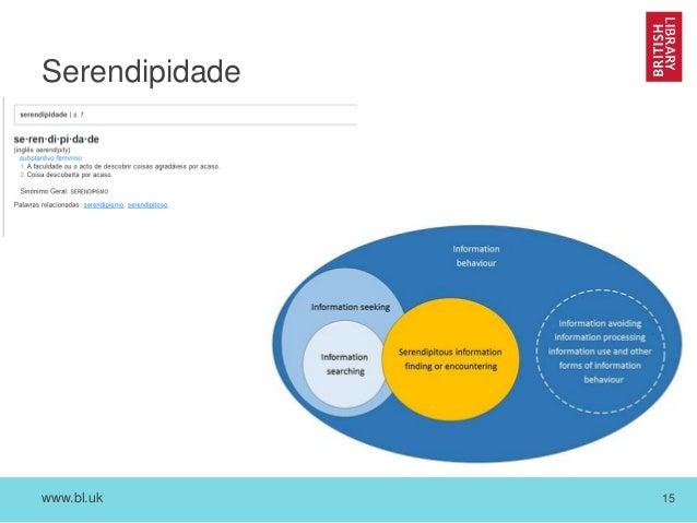 www.bl.uk 15 Serendipidade