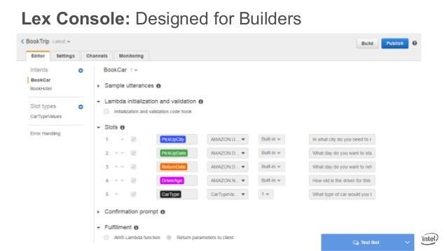 Lex Console: Designed for Builders